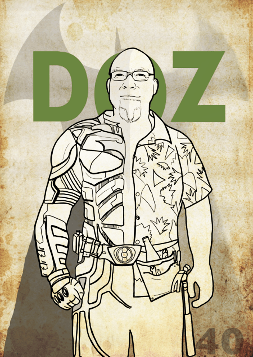 DOZ THE BUILDER (LOVES BATMAN) :: DIGITAL :: 2014